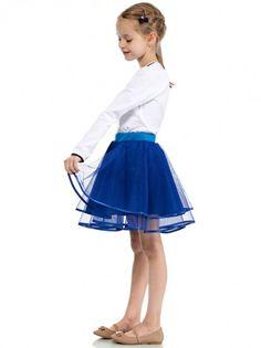 9bfb3c263557 Dječja kratka suknja KIDIN - kraljevsko plava