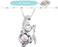 Alloy Mermaid Pearl Cage Pendant Necklace Artificial Pearls Necklace Jewelry