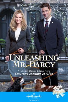 "Its a Wonderful Movie - Your Guide to Family Movies on TV: Hallmark Channel Presents Modern Day Twist on Jane Austen's Pride & Prejudice with ""Unleashing Mr. Darcy"""