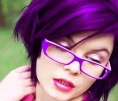 Purple sophistication