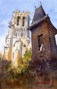 Iain Stewart The South Tower- Notre Dame 10