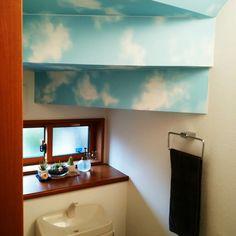青空お気に入りです! エアプランツ/小窓/青空天井/階段下のトイレ/バス/トイレのインテリア実例 - 2015-04-11 07:21:16 | RoomClip(ルームクリップ)