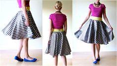 DIY Clothes Refashion: TUTORIAL the Circle Skirt
