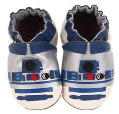 Robeez Soft Soles R2D2 Shoes for the geeky baby!