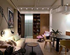 One Bedroom Apartment in Pastel Tones by Olga Akulova