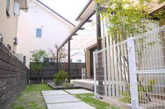 プラスGルーフテラス Terrace, Deck, Stairs, Exterior, Outdoor Structures, Outdoor Decor, Gardens, House, Home Decor