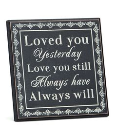 Black Anniversary Plaque   Daily deals for moms, babies and kids