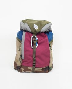 Epperson Mountaineering Climbing Pack - Moss/Bordeaux