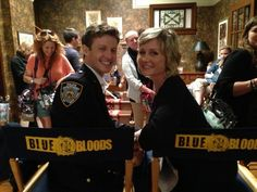 Will Estes & Amy Carlson on Blue Bloods set Blue Bloods Jamie, Blue Bloods Tv Show, Jamie Reagan, Amy Carlson, Cbs Tv Shows, Tom Selleck, Donnie Wahlberg, Family Affair, Action Movies