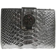 42867552e0c3 Buy your exotic leathers clutch bag Roberto Cavalli on Vestiaire  Collective
