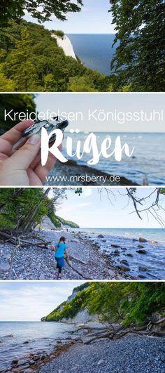 MrsBerry.de Reisetipps für deinen Urlaub auf der Insel Rügen | Zum Pflichtprogramm einer jeden Rügen-Reise gehört der Besuch des berühmten Kreidefelsen Königsstuhl im Nationalpark Jasmund. Mehr dazu >>> https://mrsberry.de