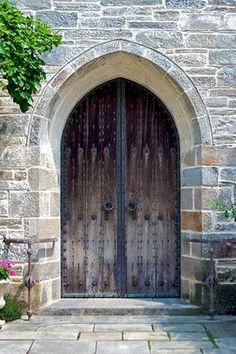 Door to Trinity Church, Upperville, VA