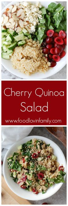 Cherry Quinoa Salad