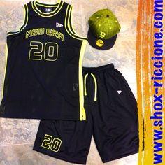 COMBO:NEW ERA MESH JERSEY tanktop+SHORT mESH NEW ERA!!!venite a trovarci allo SHOX urban clothing di viale dante 251 Riccione APERTI tutti i giorni anche la DOMENICA POMERIGGIO !per info e vendita contattateci su FB: @ SHOX URBAN CLOTHING ,spedizione €5-->free for order over €50!!! #newera #canotta #short #2015 #SHOX #mesh #basket #custom #sartoriainterna #fashion #dapaura #fresh #streetwear #life #esclusivo #nuoviarrivi  #swag  #solodanoi  #unici #men #girl #summer #like #instafashion…