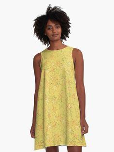 Blurred Blocks Abstract Design' A-Line Dress by Sheila Wenzel Ganny Light Ombre, Light Blue, Green Flats, Girly, Vintage T-shirts, Schneider, Flat Color, Color Azul, Elegant