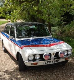 Triumph dolomite sprint. In Leyland rally colour For Sale