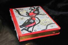 Ежедневник, декор из полимерной глины