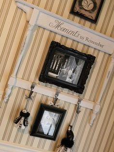 upcycled dresser mirror frame
