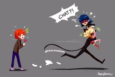 Chat Noir just grabs her   -_-