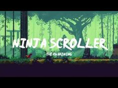 Ninja Scroller - The Awakening - Shinobi incontra i runner game! New Games For Ps4, Xbox One Games, Ps4 Games, News Games, Video Games, Gamer News, Xbox News, Runner Games, Tablet Android