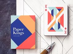 I just love designing playing cards - it's always a challenge and a good way to test your skills - from composition to design and illustration. Meet Paper Kings and, of course, do check out the att...