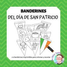 This printable includes more than 12 designs to decorate your bulletin board or corridors with St. Patrick's symbols and images.They are ready to print and use! Just ask your students to colour them (they can also trace the drawings on both sides before hanging them).The cliparts are by Littlered Cl... Bulletin Boards, St Patricks Day, Cl, Kindergarten, Homeschool, About Me Blog, Students, Printable, Symbols