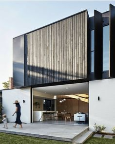 Architecture Extension, Architecture Résidentielle, Sustainable Architecture, Contemporary Architecture, Contemporary Houses, Australian Architecture, Bungalow, Exterior Design, Purpose