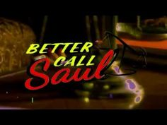 You are watching the movie Better Call Saul on Six years before Saul Goodman meets Walter White. We meet him when the man who will become Saul Goodman is known as Jimmy McGill, a small-time lawyer searching Astro Boy, Futurama, Twin Peaks, Breaking Bad, Saul Goodman, Call Saul, Opening Credits, Title Sequence, Movie Titles