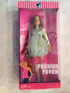 FASHION FEVER BARBIE DOLL - 2007 - TERESA - NEW IN BOX #MATTEL #FASHIONFEVER