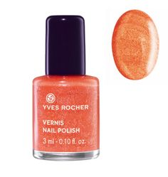 Yves Rocher Nail Polish - Sparkling Coral - Yves Rocher Nail Polish – Sparkling Coral  Say yes to the Winter 2014 trend with this new Nail Polish that offers immediate shimmering effect! Practical, its formula dries quickly and is easy to apply. Result: one coat is all it takes to create a fabulous effect. The Plus: a practical small format to bring everywhere. 0.10 fl.oz. / 3 ml Bottle List Price: Price: 3.00 Lot of 10 Sinful Colors Finger Nail Polish Color Lacquer All