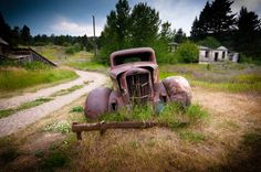 Marysville, Montana is a cool, spooky semi ghost town near Helena. Check it out!