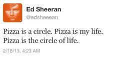 wise words from mr. edward sheeran
