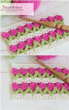 You will love this Crochet Tulip Stitch Video and it's one of several fabulous ideas that you won't want to miss. Youtube Crochet Patterns, Crochet Square Patterns, Crochet Stitches Patterns, Knitting Patterns, Crochet Crafts, Crochet Dolls, Crochet Yarn, Crochet Projects, Crochet Jar Covers