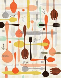 would make really cute kitchen curtains (automatism: Atelier: Jenn Ski)