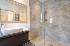 Grey marble walk in shower  5 bedroom terraced house for sale in Jephtha Road, Wandsworth - Rightmove | Photos