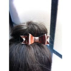 Leather Bows by Gray Maison, on Brickyard Buffalo! Metallic and matte colors- hurry, while supplies last.