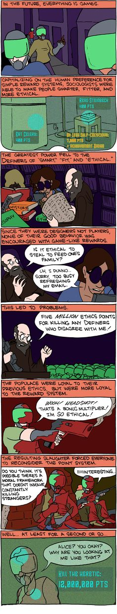 Another clever metaphor on the problem of religion... good old SMBC