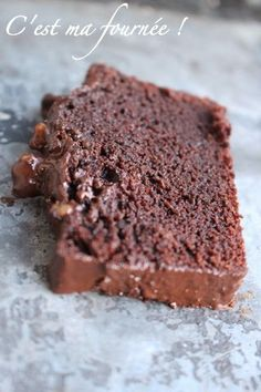 C'est ma fournée !: Le cake au chocolat de Claire Damon