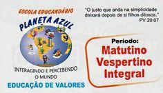 Eu recomendo Escola Planeta Azul- Jardim Mariliza, #Goiânia, #Goiás, #Brasil