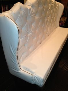 Upholstered High Back Banquette Dining Chair Diy