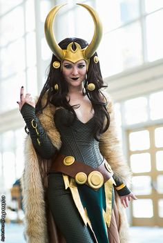 Lady Loki #cosplay | Long Beach Comic & Horror Con 2013