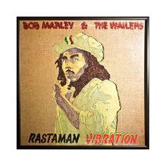 Glittered Bob Marley Rastaman Vibration Album