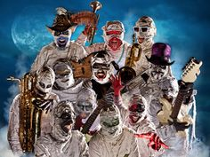JUST ANNOUNCED! Tickets to see Here Come The Mummies on 5/26 go on sale this Friday!
