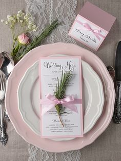 Select perfectly matching stationery and do not forget about any detail ! All matching your invitations ! Rustic Wedding Stationery, Wedding Menu Cards, Wedding Programs, Wedding Invitations, Wedding Day, Wedding Stuff, Menu Table, Pink Dessert Tables, Rustic Wedding Cake Toppers
