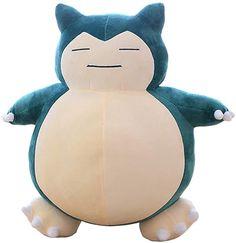 Zhangmeiren Card Than The Beast Pillow Doll Plush Toy Doll (Color : Blue, Size : Pokemon Room, Pokemon Snorlax, Plush Dolls, Doll Toys, Pusheen Plush, Animal Pillows, Soft Dolls, Gifts For Kids, Kawaii Stuff