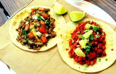 At One Taco, you'll certainly want more than one taco. How does one choose between the breakfast tacos alone, which include options like the Big. Breakfast Tacos, Breakfast Lunch Dinner, Best Food Trucks, Melted Cheese, Bruschetta, Places To Eat, Sausage, Bacon, America