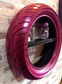 Bookcase wall tire recycling by Designxtutti  http://integratire.com/ https://www.facebook.com/integratireandautocentres https://twitter.com/integratire https://www.youtube.com/channel/UCITPbyTpbyNCDeEmFbYFU6Q