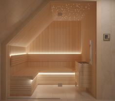 Nordic Sauna Lighting