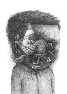 Metáforas en bonitos carboncillos surrealistas | OLDSKULL.NET