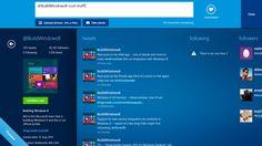 Impressie van Twitter voor Windows 8 -